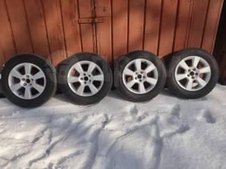 Колеса Литьё на 17 5*114,30. Toyota Xarier RAV4 Dunlop 225/65/17