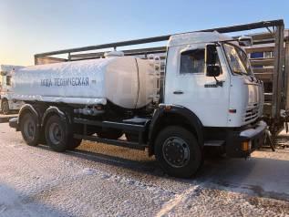 Камаз 65115 вро 2 цистерна техническая вода, 2020