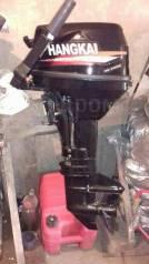 Лодочный мотор Hangkai 9.8 л. с. в отличном состоянии