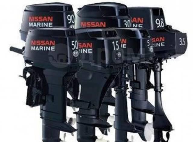 Nissan Marine. 40,00л.с., 4-тактный, бензиновый, нога L (508 мм), 2019 год