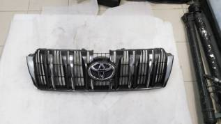 Решетка радиатора. Toyota Land Cruiser Prado, GRJ150, KDJ150, KDJ155, LJ150, TRJ150, TRJ155, GRJ151W, GDJ150L, GRJ150W, TRJ150L, GDJ150W, KDJ150L, TRJ...