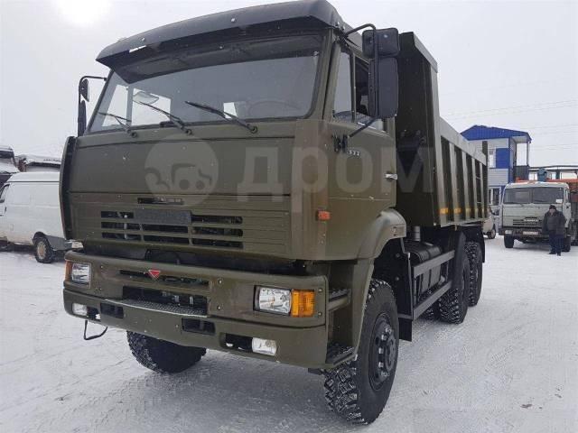 КамАЗ 6522. Самосвал Камаз-6522 с задней разгрузкой 6х6 20 тонн, 20 000кг., 6x6