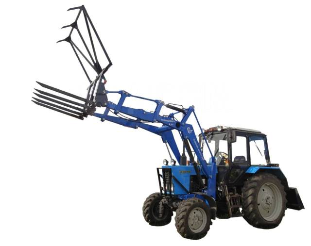 трактор мтз с куном цена