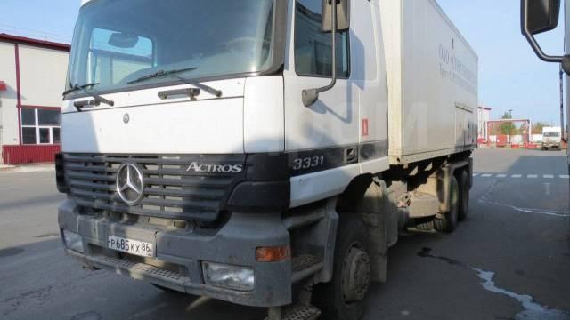 Mercedes-Benz Actros. Mercedes BENZ Aktros, 6x6