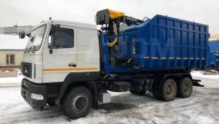 КМУ Ломовоз МАЗ-6312С5-8525-012 (Евро-5), кузов 30 куб., Майман-110S, захват ГЛ-6, 2019