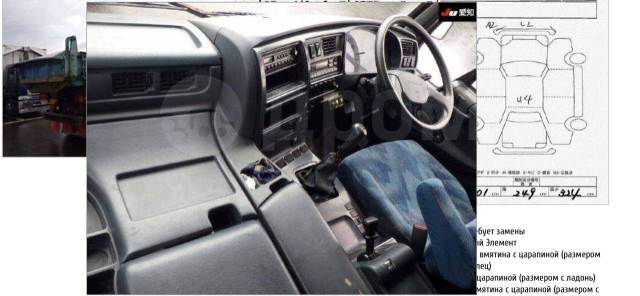 Nissan Diesel Big Thumb. Самосвал Nissan UD, Б/п. по РФ, 21 200куб. см., 25 000кг., 6x4