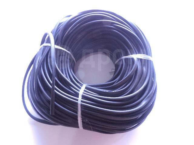 Резинка уплотнительная для обвесов -метражом ширина 11мм П образная RDOP11M
