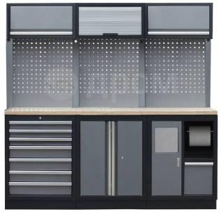 Комплект металлической гаражной мебели Mebox COM 11