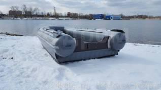 Лодка надувная ПВХ Флагман DK420, НДНД, Новая