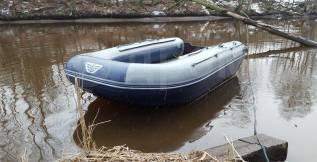 Лодка надувная ПВХ Флагман DK450, НДНД, Новая