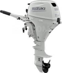 Мотор лодочный Suzuki DF15AS, белый