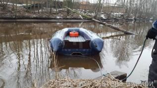 Лодка надувная Водометная ПВХ Флагман DK350 JET, НДНД, С Тоннелем Новая
