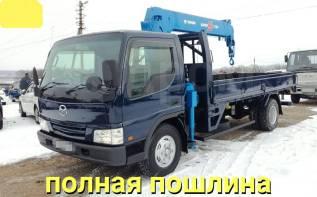 Mazda Titan. 4,6л., борт 5 тонн+ кран, 4 600куб. см., 5 000кг., 4x2