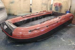 Лодка надувная Катамаран ПВХ Флагман 600К , НДНД, Новая