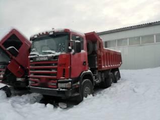 Scania R124. Самосвал СВ6X6HZ360, 6x6