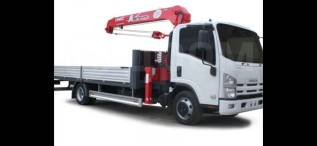 Услуги грузовика с краном 5 тонн, стрела 3 тонны. От 1000/час.