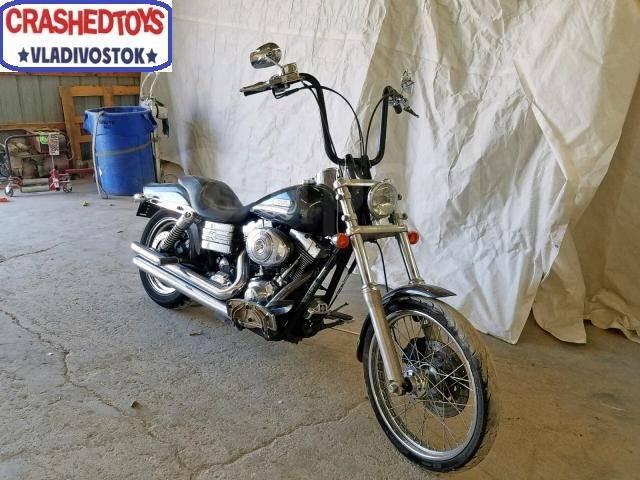 Harley-Davidson Dyna Wild Glide FXDWGI. 1 450куб. см., исправен, птс, без пробега