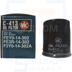 Фильтр масляный VIC C-413 Mazda