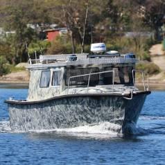 Алюминиевый катер Defriz Marine DFR 30