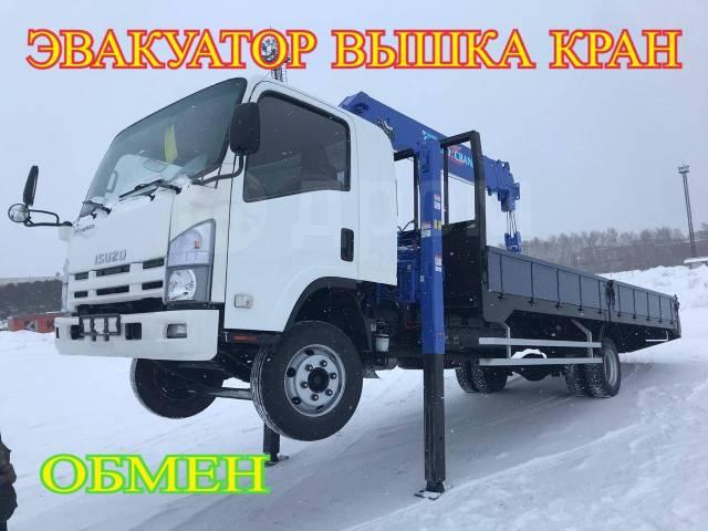 Isuzu Forward. Самогруз Вышка кран , 2012 г. в., 4x2