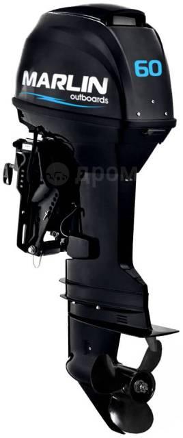 Marlin. 60,00л.с., 2-тактный, бензиновый, нога L (508 мм), 2020 год. Под заказ