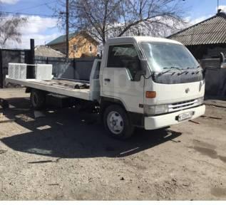 Toyota Dyna. Продам эвакуатор со сдвижной платформой , 4 200куб. см., 3 000кг.