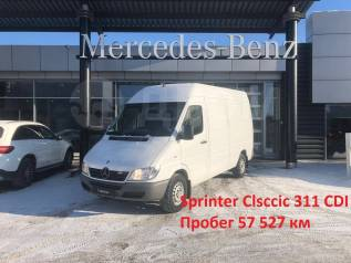 Mercedes-Benz Sprinter 413 CDI. Фургон С Пробегом от оф. дилера, 2 148куб. см., 1 500кг., 4x2