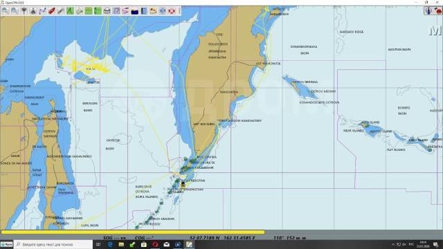 Установка, настройка электронные картографии для маломерных судов.