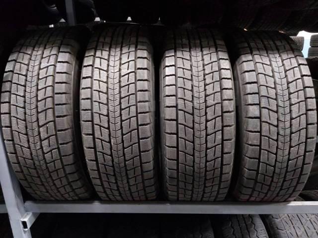 Dunlop Winter Maxx SJ8. зимние, без шипов, 2014 год, б/у, износ до 5%