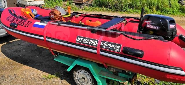 Shturman Pro. 2019 год, длина 4,50м., двигатель подвесной, 30,00л.с., бензин