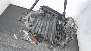 Контрактный двигатель Nissan Note E11 2006-2013, 1.6 л бензин (HR16DE)