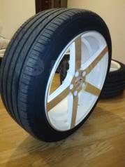 "Продам колеса: Диски Sakura Whsels 8.0х18, шины Zeta Alventi 225/45 R18. 8.0x18"" 5x114.30 ET38 ЦО 73,1мм."