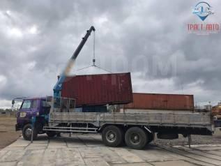 Перевозка груза: контейнера, гаражи, метал, бочки, кирпич, жби