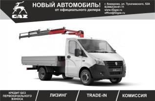 ГАЗ ГАЗель Next. Кран манипулятор(КМУ)Amco Veba 105/2s на Шасси ГАЗель некст, 2 900куб. см., 3 000кг., 4x2