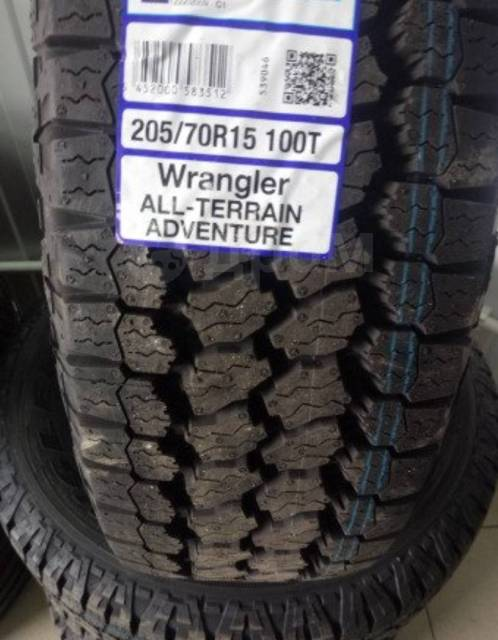 Goodyear Wrangler AT/SA. всесезонные, новый