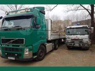 Длинномеры, бортовые грузовики, фуры перевозка любых грузов по ДВ.