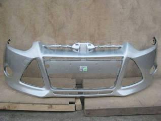 Бампер Ford Focus 3 Moondust Silver 2431C в цвет кузова новый