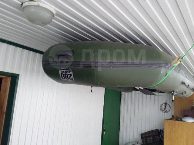 Наши лодки Патриот 280. 2011 год, длина 2,80м., двигатель подвесной, 6,50л.с., бензин