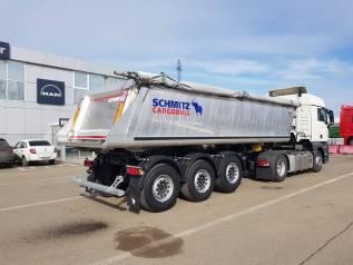 Schmitz. Полуприцеп самосвальный алюминиевый Cargobull 90843, 2019 год, 33 000кг.