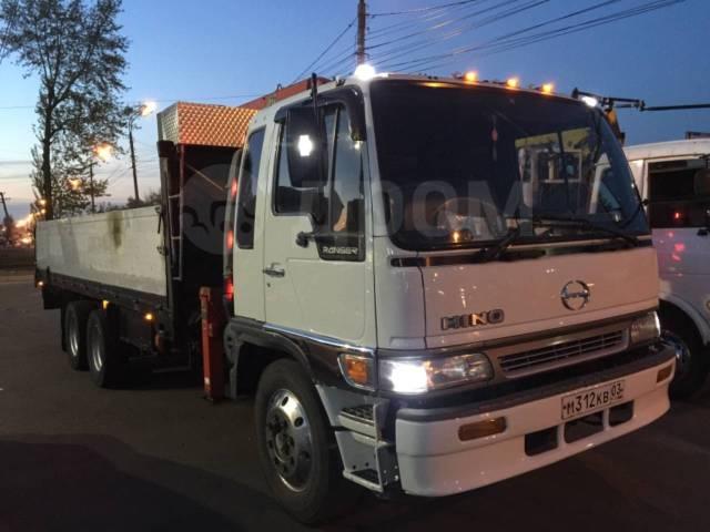 Hino Ranger. Продам отличного грузовика , 8 000куб. см., 10 000кг., 6x4