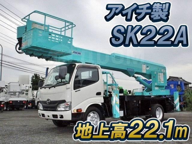 Hino Dutro. Автовышка SK-22 HINO Dutro, 4 600куб. см., 22,00м. Под заказ