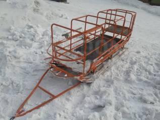 """Сани прицеп для снегохода, квадроцикла, """"Бурана"""""""
