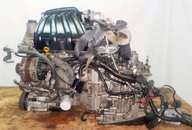 Двигатель в сборе. Nissan: Wingroad, Cube, Tiida Latio, AD, March, Tiida, Note HR15DE