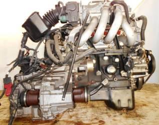 Двигатель Nissan QG15-DE с элект дросселем с АКПП и навесным