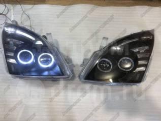 Фары Toyota Prado 120 2002-2009 Черные Новые Комплект