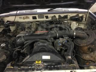 Двигатель в сборе. Toyota Hilux Surf, LN60V Toyota Hilux, LN60, LN61 2L, 2LT, 2LTE