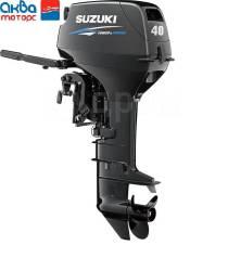 Новый подвесной лодочный мотор Suzuki DT40WS+винт в подарок