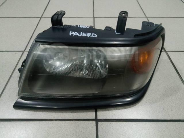 Фара. Mitsubishi Pajero, K94W, K96W Mitsubishi Nativa, K94W Mitsubishi Montero Sport, K94W, K96W Mitsubishi Pajero Sport, K90, K94W, K96W 4D56, 6G72