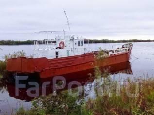 Продам для мелководья грузовой теплоход Кижи проект 16601 в Хабаровск
