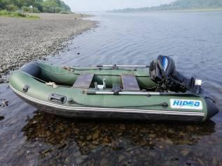 Мотор Gladiator 9.9 FHS + лодка